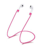MR3036-B Pink Silicone Earphone Anti-Lost Rope – 1